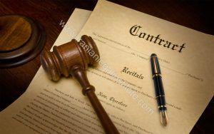 وکیل قرارداد حقوقی