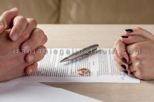 قیمت وکیل طلاق توافقی